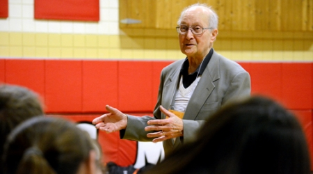 FAMILY ESCAPED NAZIS  'Nothing worse than hate,' SMS students learn from speaker