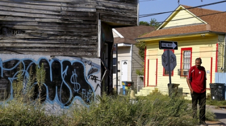 Who has saved New Orleans from the effects of Hurricane Katrina?