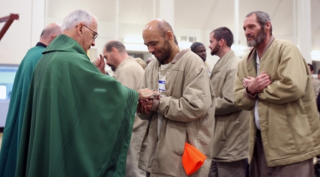 Clergy, volunteers help Westville inmates discover 'Joy of the Gospel'