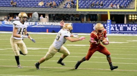 TRI-WEST HENDRICKS-49, ANDREAN-27 ♦ Fifty-Niners' tank runs out of gas at 3A state football finals