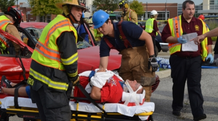 Disaster drill provides opportunity for interprofessional education
