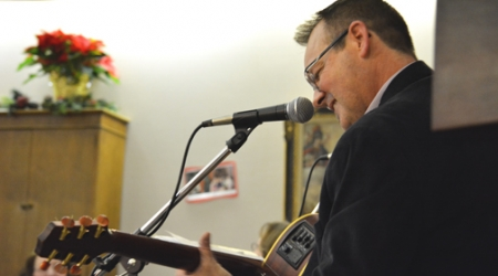 FAITH IN ACTION ♦ Music ministry enables singer-guitarist to share God's gift with others