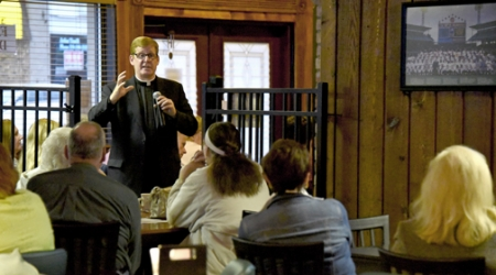 Tapped In: Catholic faith series flourishes in lively pub setting