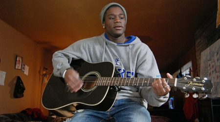 Inspired young Gary musician sings to ears, and hearts