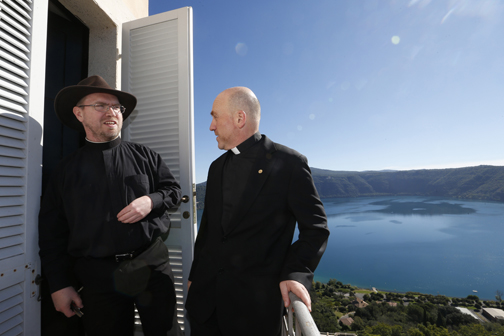 Being curator of meteorites allows Jesuit to 'find God' in all things