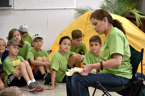 Originality and flexibility are hallmarks of successful VBS at St. Mary