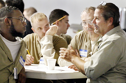 At retreat, inmates asked to remember God's forgiveness and his 'bigger plan' for their lives