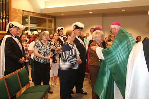 MASS OF HOPE AND HEALING  Families remember infants and children lost to them, but not to God